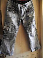 spodnie typu jeans 3/4 XL