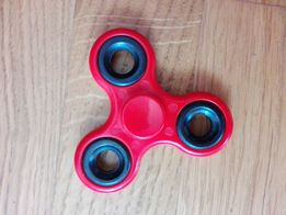 Spinner czerwony hit super zabawka stres