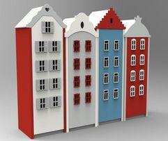 Szafa domek domki DZIECIĘCY POKÓJ segmenty moduły