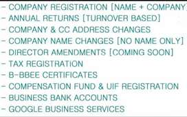 Trust deed registrations and other services