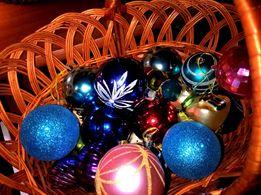 Новогодние игрушки 41 шт + 2 шишки:)