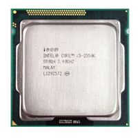 Мощный процессор S1155 Intel Core i5 2550K unlocked 3.8 ghz, tray