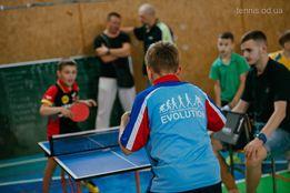 Набор девочек и мальчиков на настольный теннис TTC Evolution Одесса