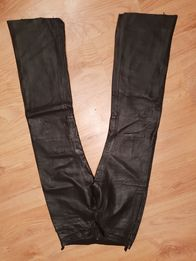 Spodnie skorzane motocyklowe damskie 38