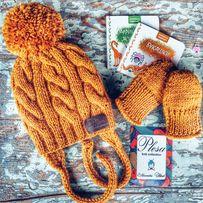 Шапочки и снуды «Plesa knit Collection». Шапка снуд на заказ