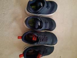 Puma and nike toddler shoes for sale size 5