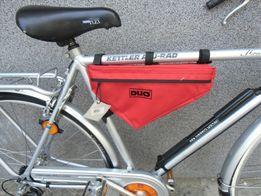 Duża torba rowerowa trójkątna na ramę z dobrego materiału 3 kolory