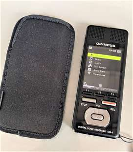 Olympus DM5 is a state-of-the-art voice recorder. New price £202.80
