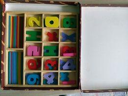 Счетный набор деревянный