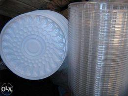 Продам пластиковую упаковку( контейнеры ) для торта 100 шт