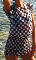 Туника блузка пляжная
