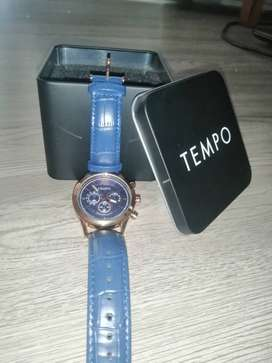 Blue Tempo watch For sale