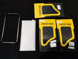 Huawei mate 40 pro skins and tempered glass