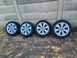 OEM Audi A1 Rims and Tyres for sale (16 inch)