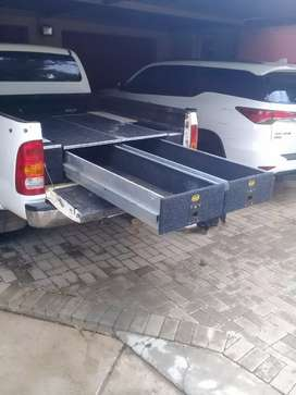 Hilux drawer conversion