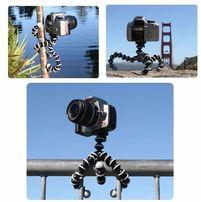 Гибкий штатив - осьминог (размер XXL) для GoPro и телефона 26cm