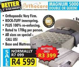 double or queen orthopedic bedsets