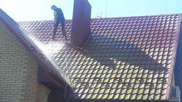 Мийка та фарбування дахів, фасадів.