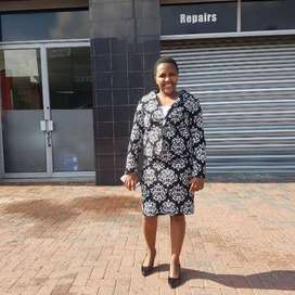 32 year old Lesotho maid/nanny looking for strictly stay in work