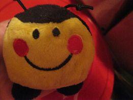 мягкая игрушка пчела пчелка колобок фирменная в попе шарики моторика