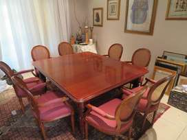 Durban-Dining Room Table (up to 12-seater) + 10 carver chairs-Durban