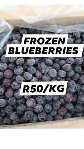 R50/KG FROZEN BLUEBERRIES