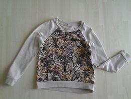Bluzy dziewczęc w kotki i tygryski , roz110-116 cm, kucyki pony