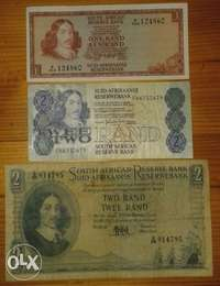 Image of Great set of 3 S.A notes