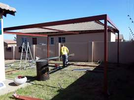 We do carports and paving
