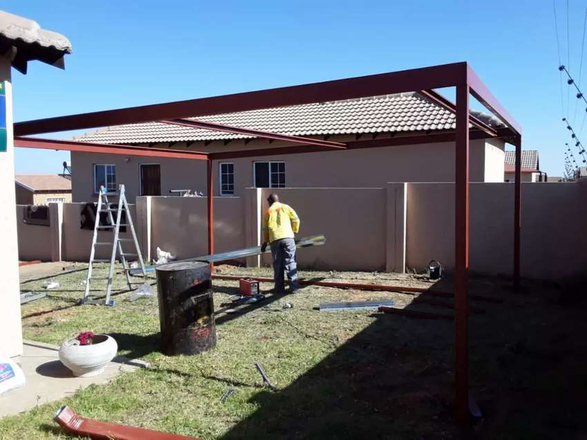 We do carports and paving 0