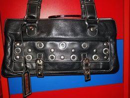 Стильная Кожаная сумка Via Repubblica