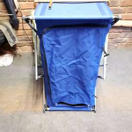 Camping fold up cupboard