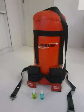 Punching bag + MMA gloves included