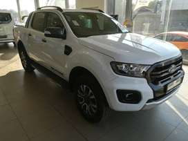 Own your 2019 Ford Ranger 2.0 BiT Wildtrak today from only R8 899p/m