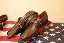 Обувь из кожи крокодила