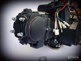 Двигатель Дельта Альфа Актив 125 кубов механика. Мотор 54 мм