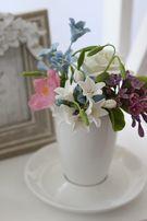 Цветы из Холодного фарфора. Оригинальный подарок. Букет. Ручная работа