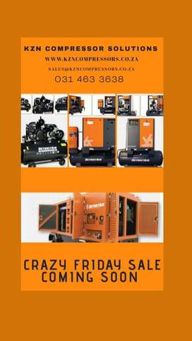 Industrial Air Compressors (CRAZY SALE AND DISCOUNT)