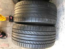 255 40 R18 Continental Run Flat Tyres