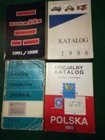 Zestawik starych katalogów filatelistycznych
