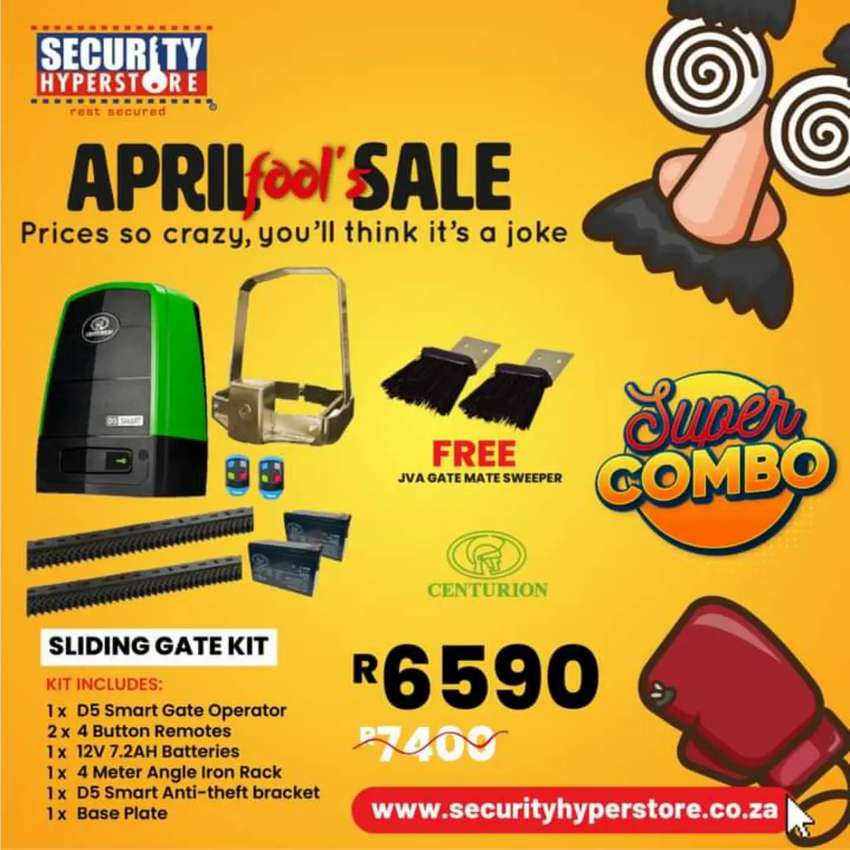 April Fool's Sale now on Security Hyperstore!