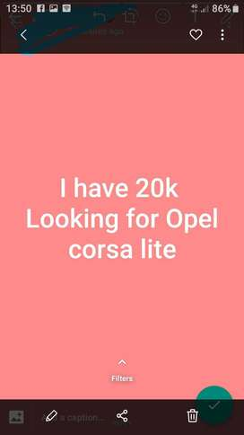 Looking for a car costing around 20 000