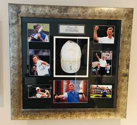 Ernie Els Open Limited Edition Championship Win Autographed Frame
