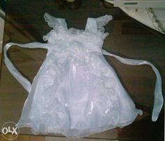 Sukienka dla niemowlęcia np. na chrzest