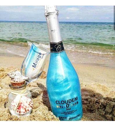 Cloudem безалкогольное шампанское