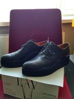 Кожаные женские туфли размер 38