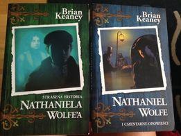 TANIO Sprzedam 2 czesci ksiazek Nathaniel Wolfe! idealne na wakacje!