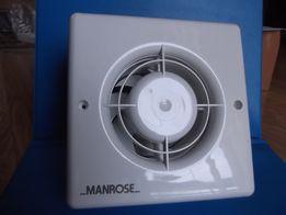 Angielski wentylator łazienkowy 100 mm z wyłącznikiem czasowym.