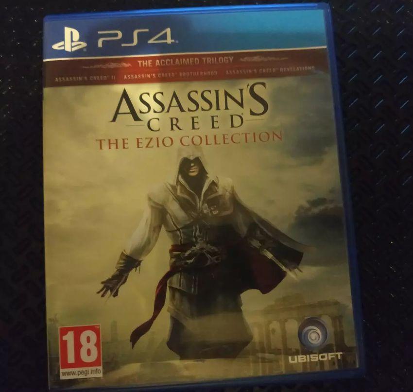 PlayStation 4 hra - Assassin's Creed: Ezio Collection (tři díly) 0