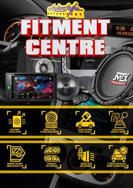 NEW Fitment and supply of Car Audio, tyres, mag wheels, alarm systems,
